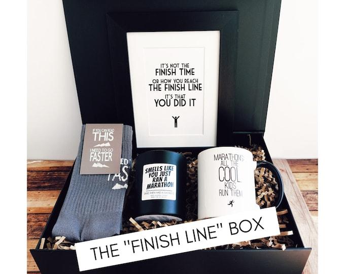 "Marathon Gifts - The ""Finish Line"" Box"