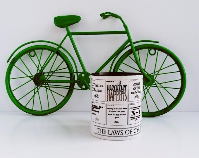 Mug - Cycling Laws - Gifts for Bikers