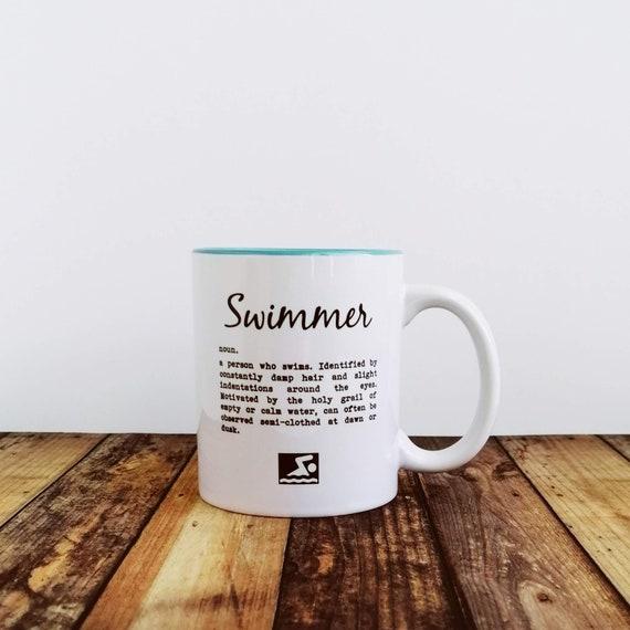 Swimmer Definition. Swimmer Mug, Swimming Gift, Swimmer Gift, Gift for Swimmer, Swimmer Gift. Funny Swimming Mug. Gifts for Swimmers