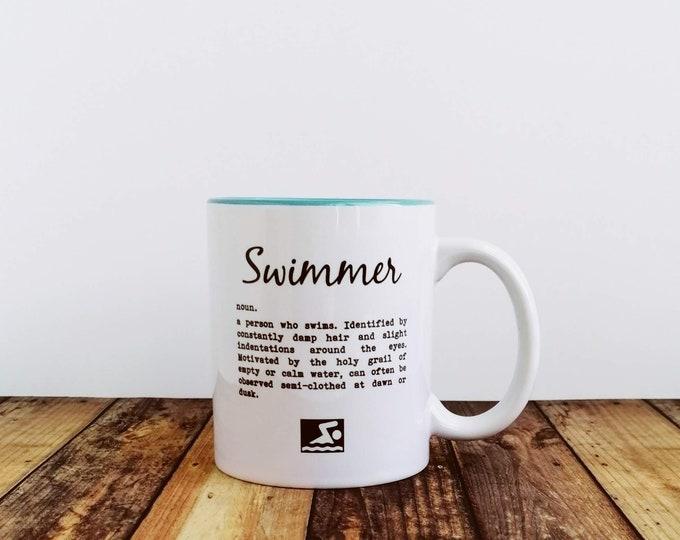 Mug - Swimmer Definition - Wild Swimming Gifts