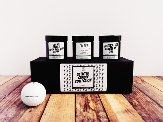 Golf Gifts - Scented Soy Candle Collection - Golfer Collection
