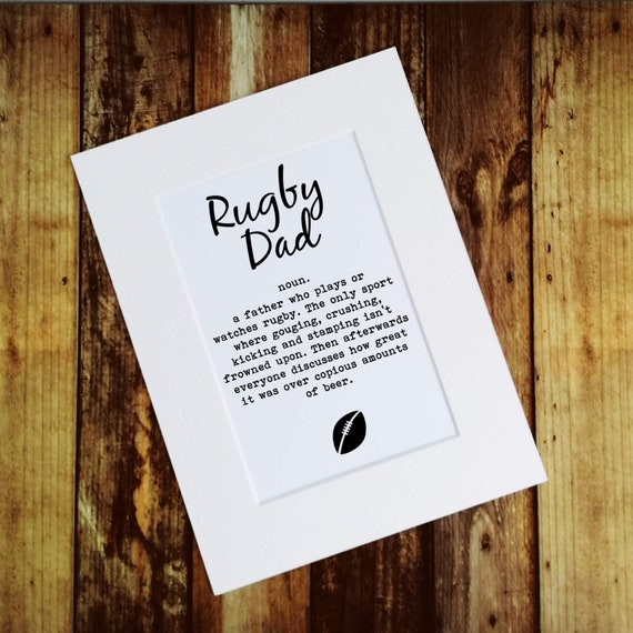 Rugby Dad - Father's Day Gift