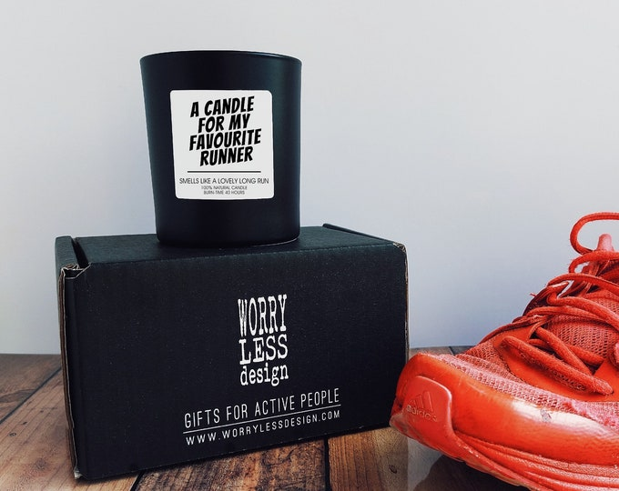 Scented Candle - My Favourite Runner