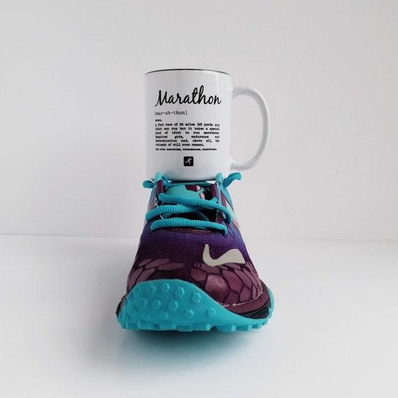 Marathon Definition. Marathon Gift, Funny Marathon Mug, Gift for Runner, Gift for Marathon Runner. Running Gifts. Marathon Gifts, Good Luck