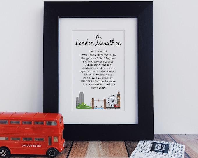 London Marathon Gifts - London Marathon Definition