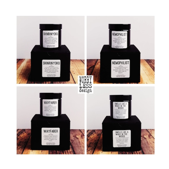 Walking Gift - Scented Soy Candle - Choose from 4 Designs and Scents - Rambler Gift - Hiking Gift