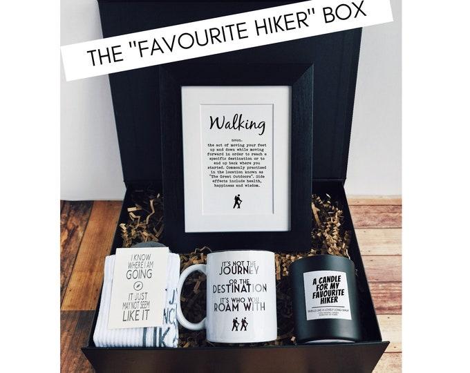 """Walking Gifts - The """"Wayfarer"""" Box. Rambler Gift Set"""