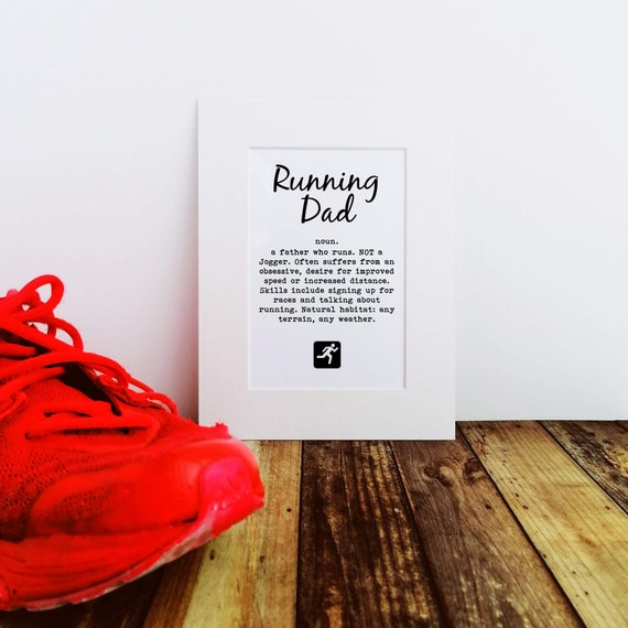 Running Dad - Father's Day Gift
