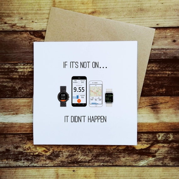 If it's not on... - Cycling Card, Bike Card, Cyclist Card, Card for Cyclist, Funny Cycling Card, Funny Cyclist Card, Cycling Quote