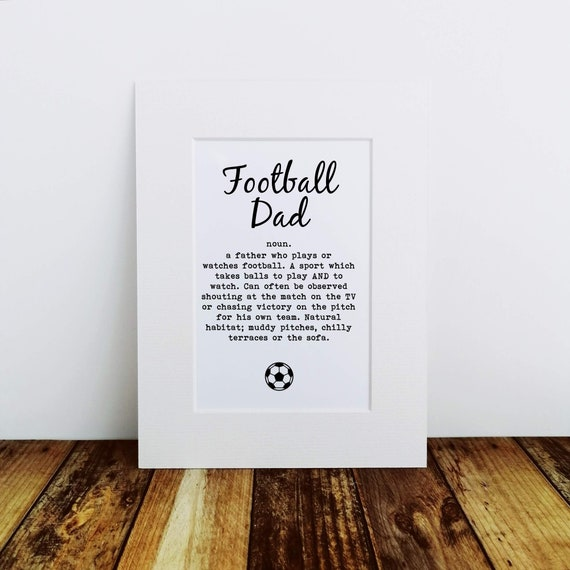 Football Dad - Father's Day Gift