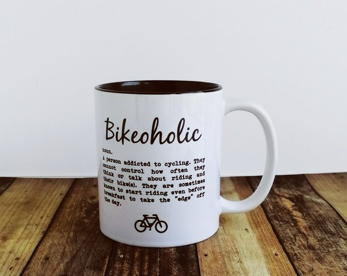 Mug - Bikeoholic - Cycling Gift
