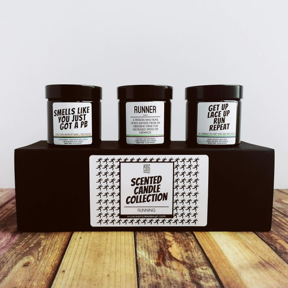 Scented Candle Collection - Running Collection - Presents for Runners