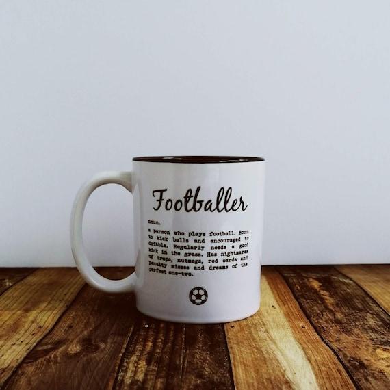 Football Gifts - Footballer Definition - Mug.