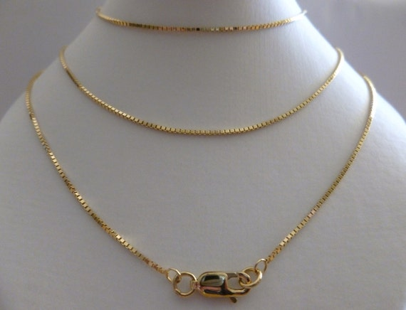 """Solid 9ct Yellow Gold Curb Chain Hallmarked Ankle Chain 10/"""" FREE UK POST *NEW*"""