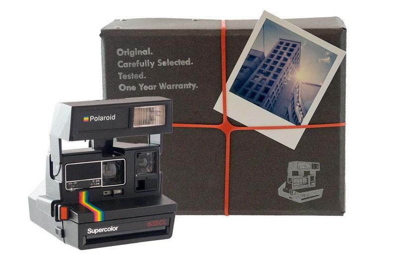 Polaroid Camera Package  Basic: Square  FREE image 0