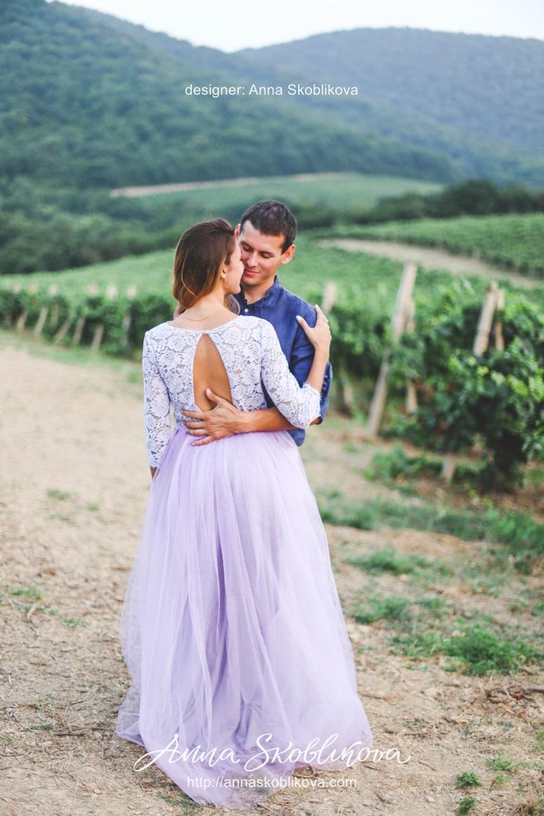 Lilac bridesmaid dress, Plus size wedding dress, Lilac wedding dress, Lilac  dress, Lavender bridesmaid dress, 0042