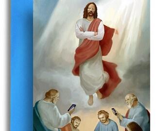 Iphone Jesus Card