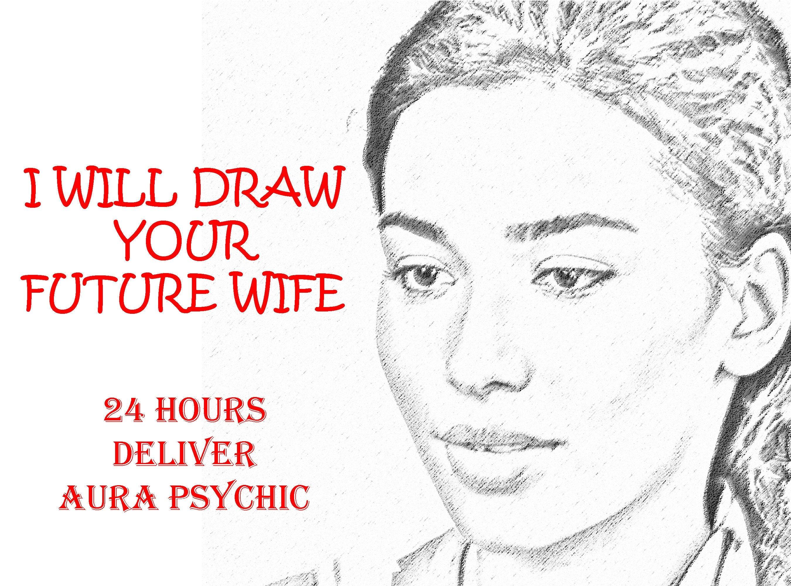 Ich zeichne deine zukünftige Frau in 24 Stunden