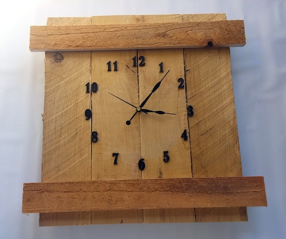 Rustic Diy Pallet Wood Clock