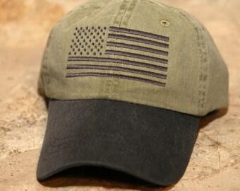e80fa4938749f KHAKI BLACK Special Forces Operator Tactical American US Flag Hat