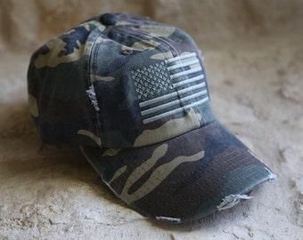 Usa flag hat | Etsy