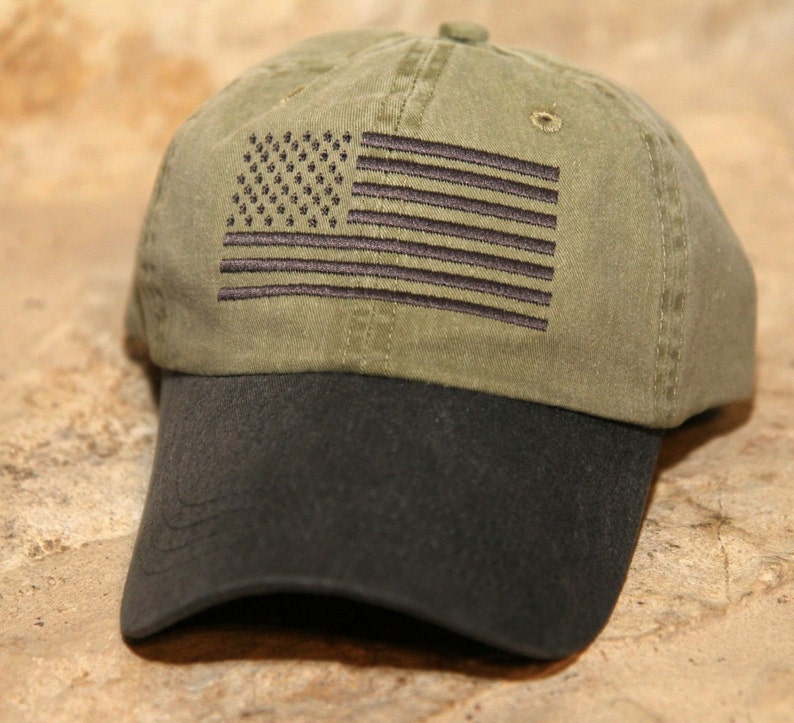 d113c50bf61 KHAKI BLACK Special Forces Operator Tactical American US Flag