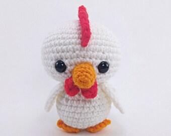 PATTERN: Chirp the Chicken - Crochet chicken pattern - amigurumi chicken pattern - PDF crochet pattern