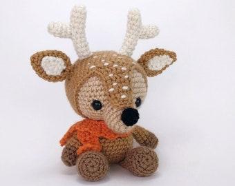 Dash the Deer Free Amigurumi Pattern   Jess Huff   270x340