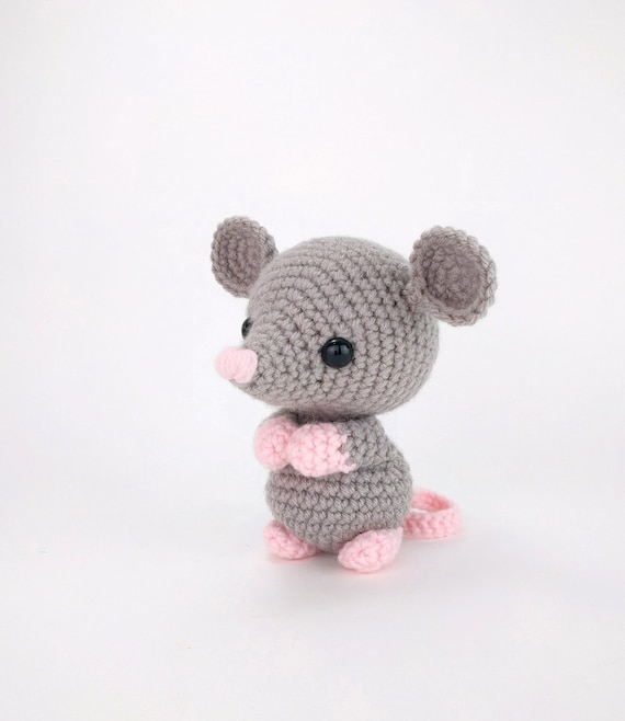 PATTERN: Maxwell the Mouse  Crochet mouse pattern  amigurumi