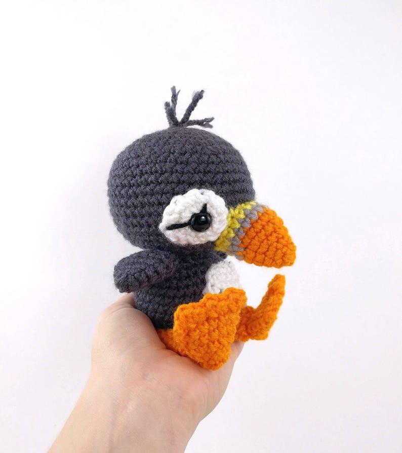 PATTERN: Paavo the Puffin Crochet puffin pattern amigurumi ...