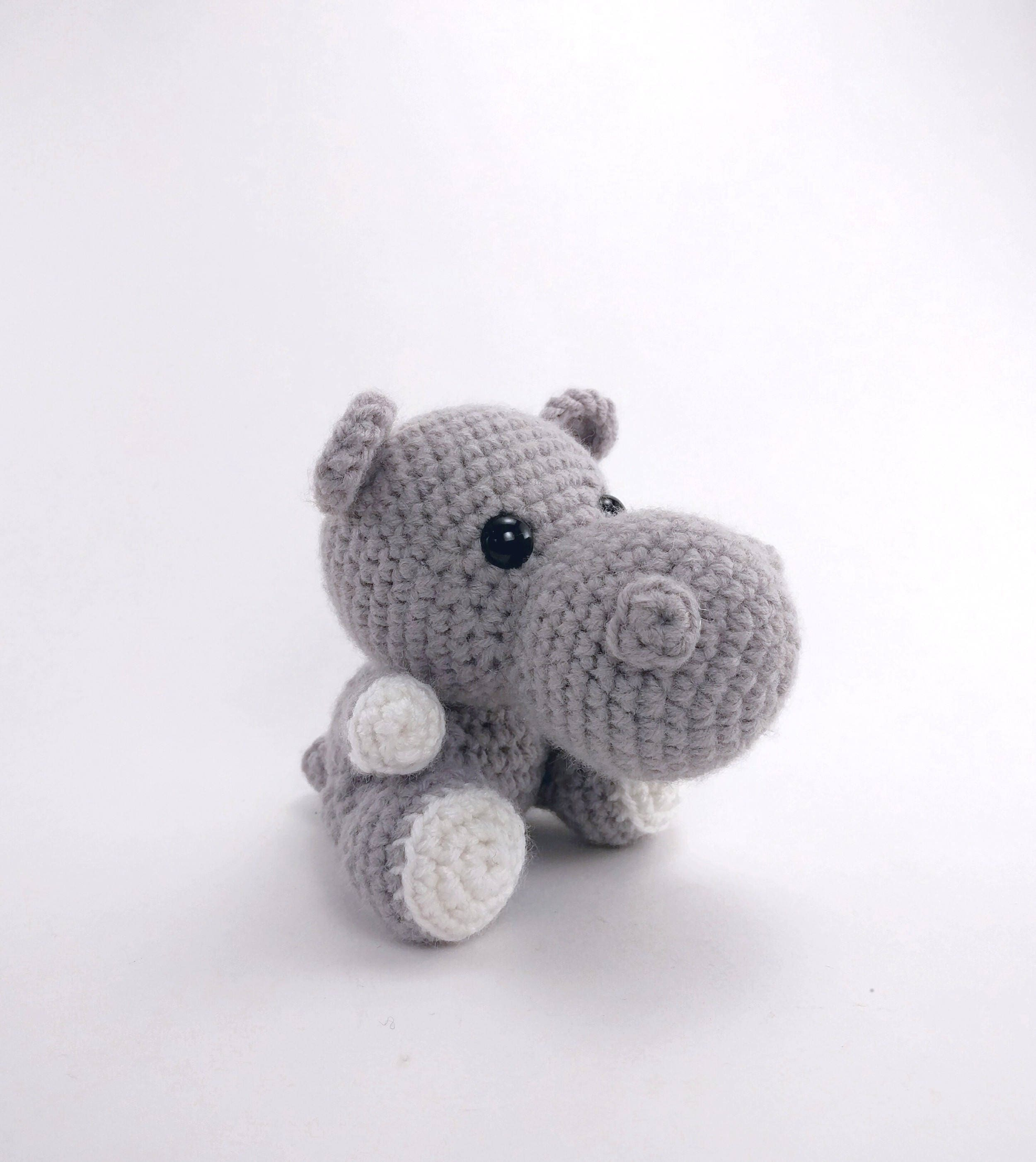 Crochet Hippo Pattern Awesome Decoration