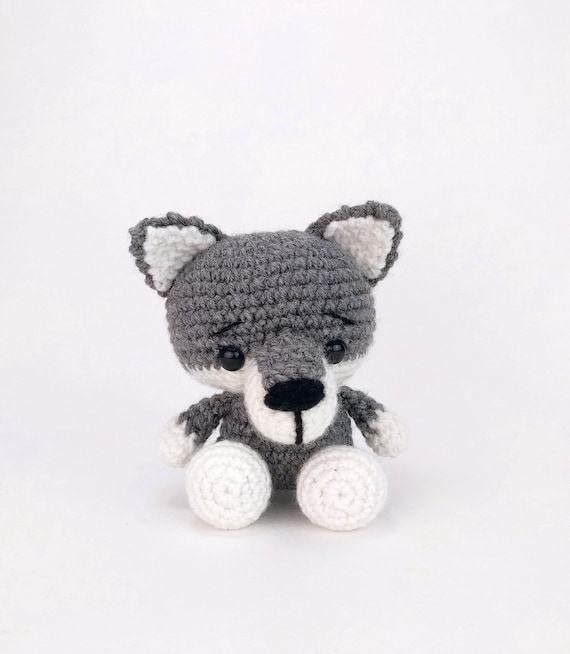Little Wolf / Amigurumi | 654x570