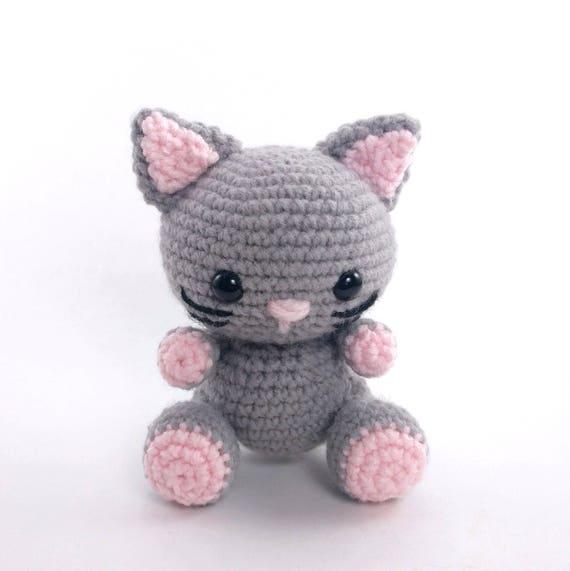 Pattern Kaylie The Kitten Crochet Cat Pattern Amigurumi Etsy