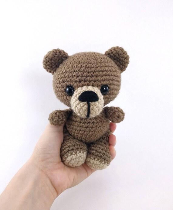Pattern Benji The Bear Crochet Bear Pattern Amigurumi Etsy