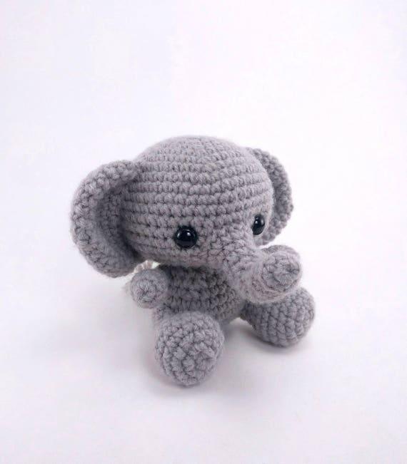 PATTERN: Ellis the Elephant crochet elephant pattern   Etsy