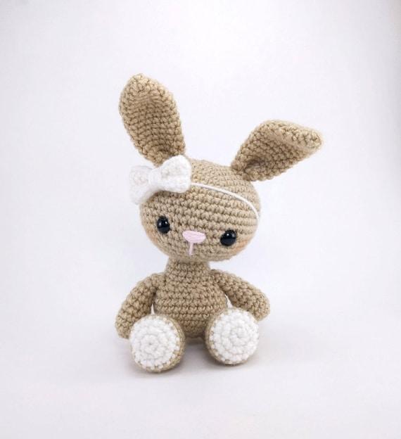 PATTERN Bryce The Bunny Crochet Bunny Pattern Amigurumi Etsy Adorable Crochet Bunny Pattern