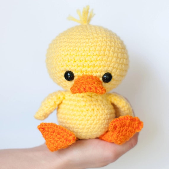 Pattern Dilly The Duck Crochet Duck Pattern Amigurumi Etsy