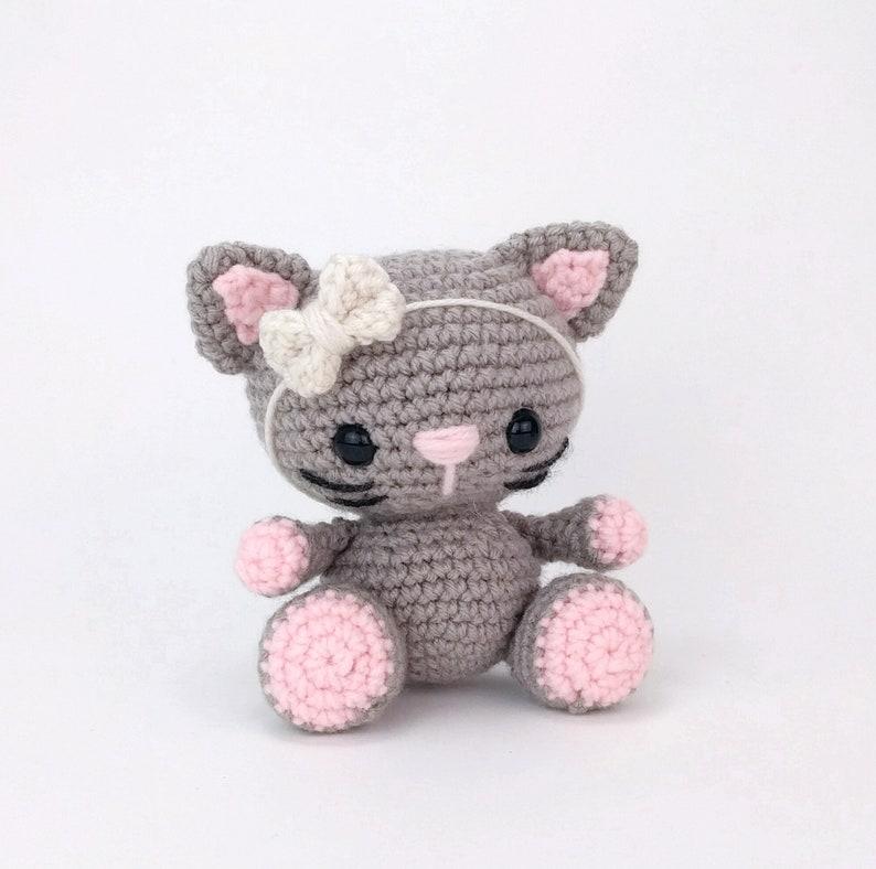 PATTERN: Kaylie the Kitten  Crochet cat pattern  amigurumi image 0