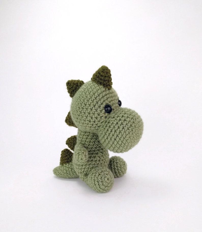 Pattern Mr Dinosaur Crochet Dinosaur Pattern Amigurumi Etsy