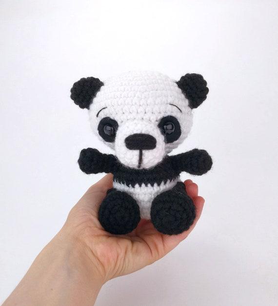 Pattern Po Fu The Panda Crochet Panda Bear Pattern Etsy