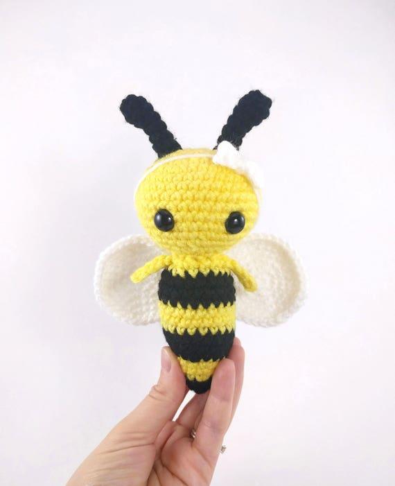 Pattern Phoebee The Bee Crochet Bee Pattern Amigurumi Bee Etsy