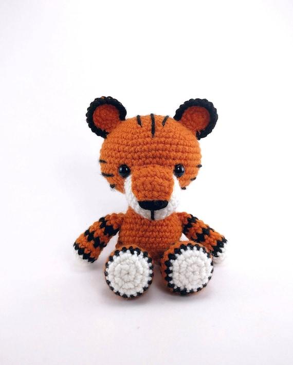 Pattern Toby The Tiger Crochet Tiger Pattern Amigurumi Etsy