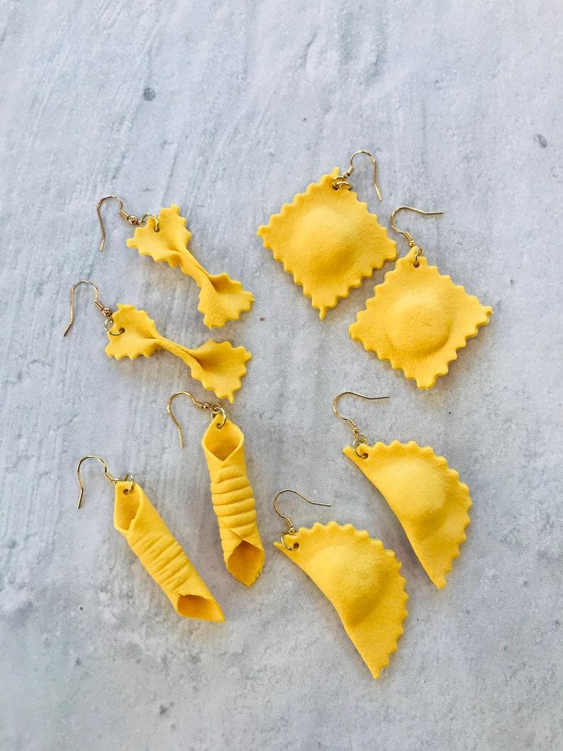 Pasta Earrings image 0