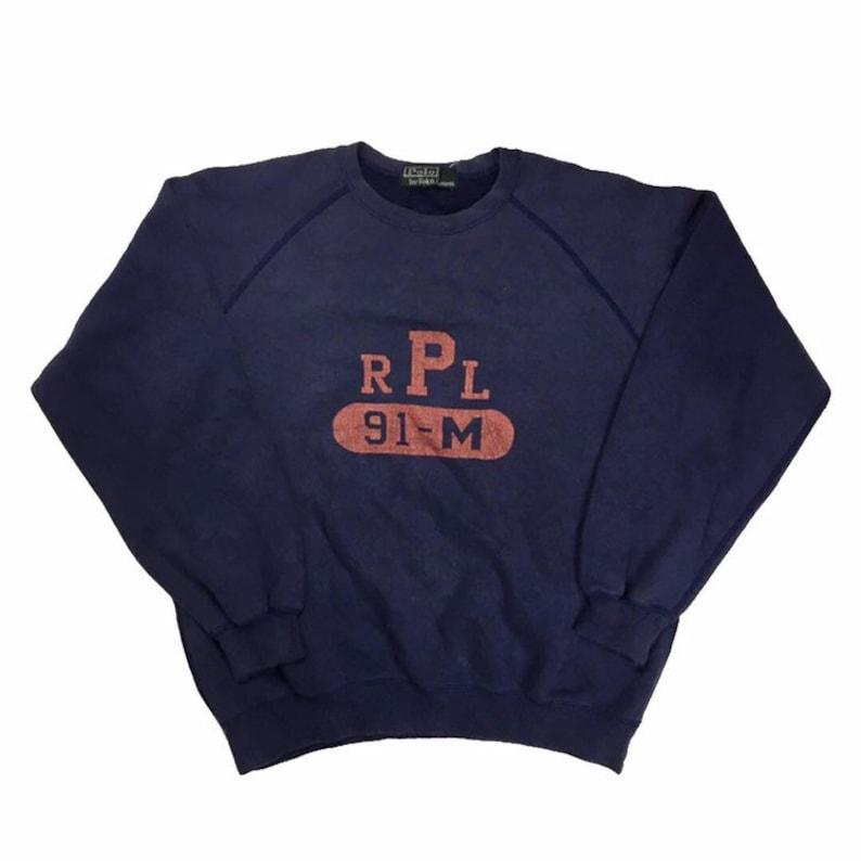 ae01aed8c9861 Vtg Boys Ralph Lauren Rpl 91-m Sweater Medium Small hoodie