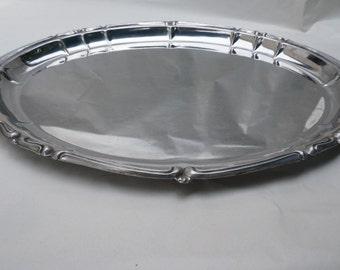 Vintage Inox Silver Tray Platter Made In France Serving Platter