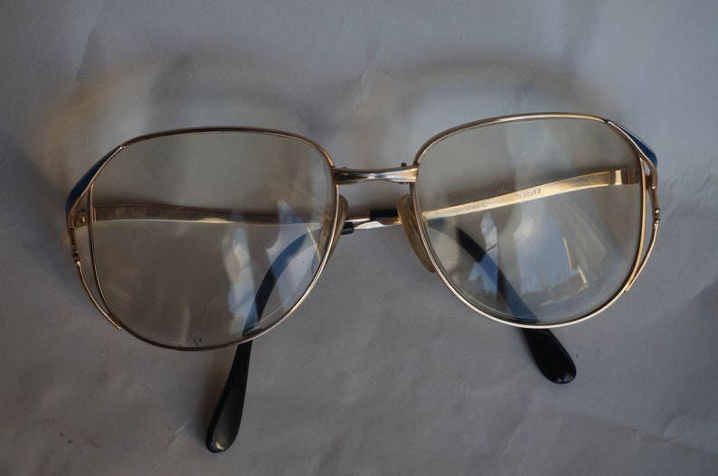 f2319d2dce7 Original eyewear Yves Saint Laurent 18k Gold plated 1970s .