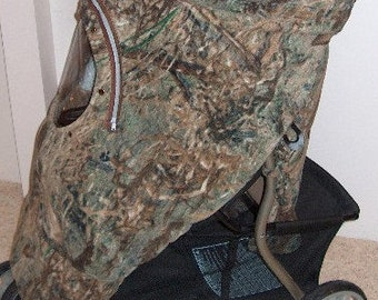 Stroller N Jogger Cover Mossy Oak Duck Blind Twill Camo Baby Custom Embroider Babys Name My 1st Deer Stand Cozy Fleece Infant CarSeat