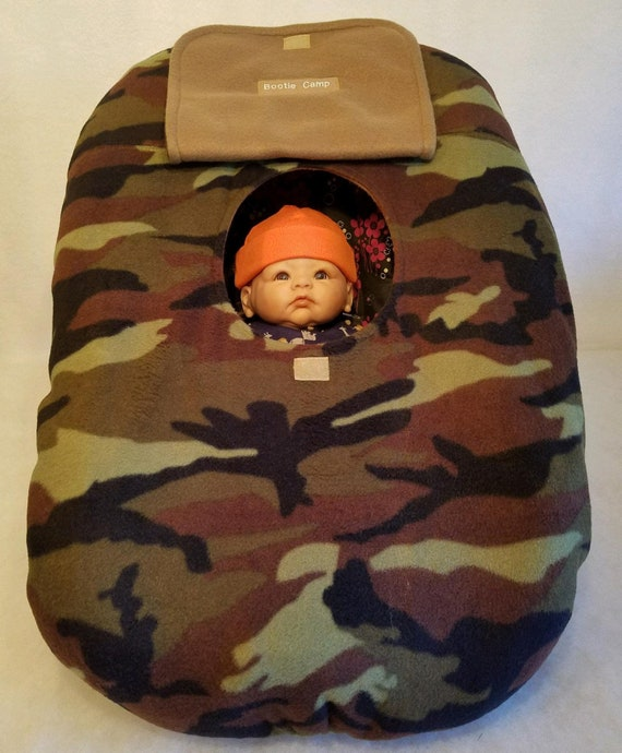 72517537100 Car Seat Carrier Cover Army Green Camo Baby With Matching