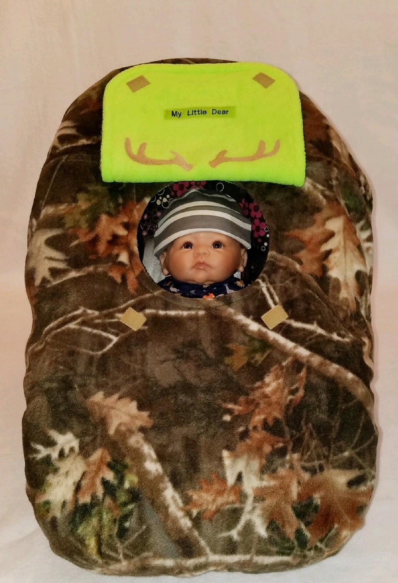 1b538843456 Car Seat Cover True Timber Light Kanati Fleece Camo Baby With