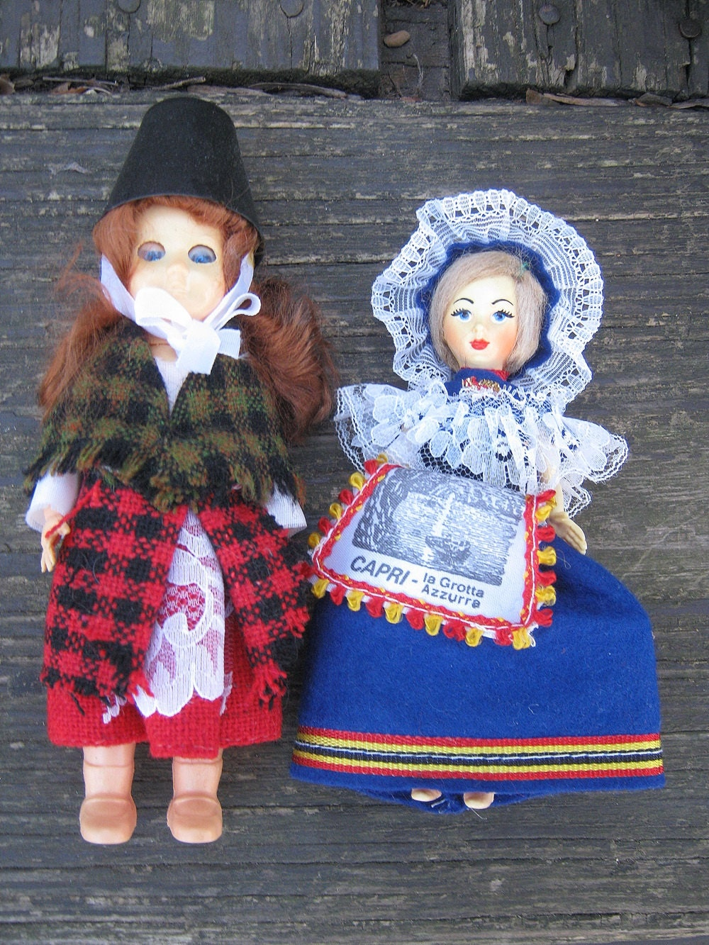 3245132db7 Souvenir Dolls Foreign Dolls In Traditional Clothing